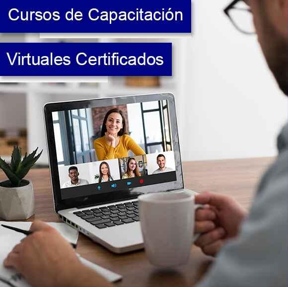 Solicitud información Cursos de capacitación virtuales Certificados